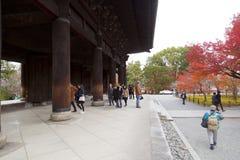 Nanzen-ji temple. KYOTO, JAPAN - DECEMBER 6, 2015: Nanzen-ji, Zuiryusan Nanzen-ji, formerly Zenrin-ji. Zen Buddhist shrine temple in Kyoto, Japan. Emperor stock photos