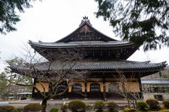 Nanzen-ji temple of Kyoto Stock Photography
