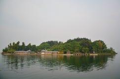 Nanzhao customs island and Kwan-yin Stock Photography