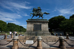 Nanzhengcheng statue. Nanzhengcheng (AD 1294-1336), is Japan's leading generals during the Middle Ages. He overthrew the Kamakura shogunate, the resurgence of Royalty Free Stock Images