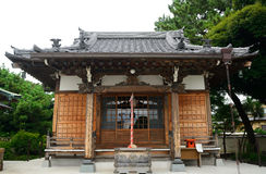 Nanzo-in Buddhist temple, Tokyo, Japan stock photography