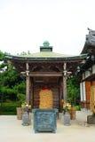 Nanzo-in Buddhist temple, Tokyo, Japan stock image