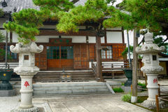 Nanzo-in Buddhist temple, Tokyo, Japan royalty free stock images