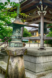 Nanzo-in Buddhist temple, Tokyo, Japan royalty free stock photo