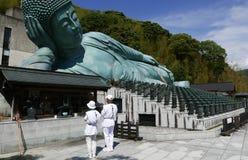 Nanzoin, Japan-May 12, 2017: Nanzoin Buddha Stock Photography