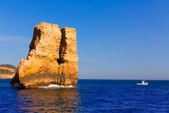 NAO della La di Javea Xabia Piedra in Spagna Mediterranea Fotografie Stock