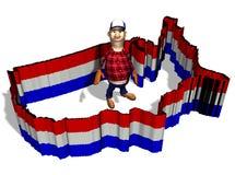 Nação do campónio - imigração Fotografia de Stock Royalty Free