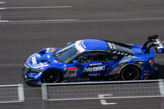 Naoki Yamamoto of TEAM KUNIMITSU in Super GT Final Race 66 Laps Royalty Free Stock Image