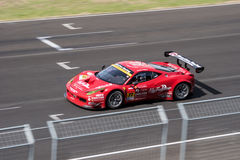 Naoki Yokomizo of Direction Racing in Super GT Final Race 66 Lap Royalty Free Stock Photography