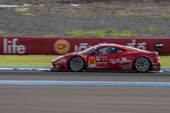 Naoki Yokomizo of Direction Racing in Super GT Final Race 66 Lap Royalty Free Stock Photo