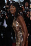 Naomi Campbell. CANNES, FRANCE - MAY 17: Naomi Campbell attend 'Biutiful' Premiere at the Palais des Festivals during the 63rd Cannes Film Festival on May 17 Stock Photo