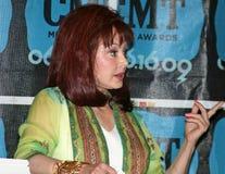 Naomi Judd - festival de música de CMA 2009 Foto de archivo