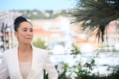 Naomi Kawase. Attends the Jury De La Cinefondation & Des Courts Metrages Photocall during the 69th Cannes Film Festival at the Palais on May 19, 2016 in Cannes royalty free stock image