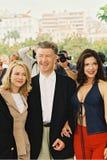 Naomi Watts, directrice David Lynch et Laura Elen photo stock