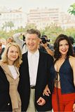 Naomi Watts, diretor David Lynch e Laura Elen foto de stock
