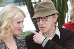 Naomi Watts et Woody Allen photo stock