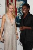 Naomi Watts, Jacqueline Lyanga Stockfoto
