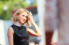 Naomi Watts walks the red carpet Stock Photography