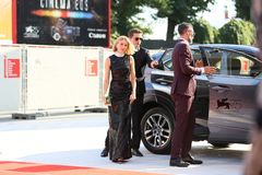 Naomi Watts walks the red carpet Stock Images
