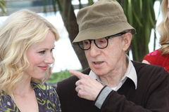 Naomi Watts and Woody Allen Stock Photo