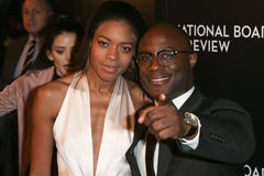 Naomie Harris Barry Jenkins royaltyfri bild