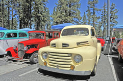 Naoorlogs Ford Truck Royalty-vrije Stock Foto