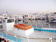 Naousa帕罗斯岛希腊 免版税库存图片