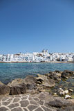 Naousa auf Paros Insel Stockbilder