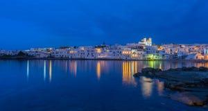 Naousa, Paros island, Cyclades. Typical Greek islands' village of Naousa, Paros island, Cyclades Stock Photography