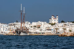 Naousa Paros Island Greece Royalty Free Stock Images