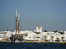 Naousa Paros Island Greece Royalty Free Stock Photos