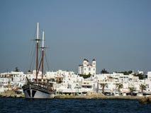 Naousa Paros Island Greece Royalty Free Stock Photos