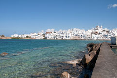 Naoussa, eiland Paros Royalty-vrije Stock Fotografie