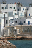 Naoussa - Greek island of Paros stock photo