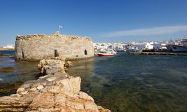 Naoussa Harbor Royalty Free Stock Photography