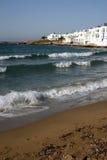 Naoussa - Paros, Griekenland Stock Fotografie