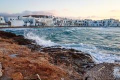 Naoussa, Paros island Stock Image