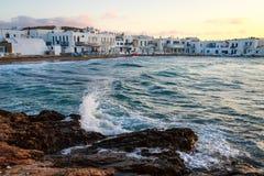 Naoussa, Paros island Stock Photo