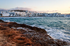 Naoussa, Paros island Stock Photos