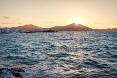 Naoussa, Paros island Stock Photography