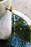 Napój fontanny ogród publicznie fotografia royalty free