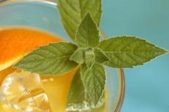 napój pomarańczowy Obrazy Royalty Free