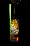 napój wypełniająca lodowa miękka część Obrazy Royalty Free
