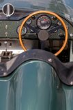 Napędowy koło stary Aston Martin Zdjęcia Royalty Free