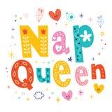 Nap queen Stock Photography