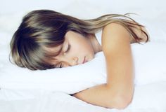 Nap time Stock Photography
