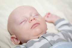 Nap Time for Baby Royalty Free Stock Photos