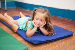 Nap time in the kindergarten Stock Photography