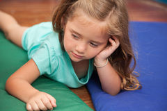 Nap time in the kindergarten Royalty Free Stock Photo