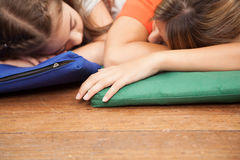 Nap time in the kindergarten Royalty Free Stock Image